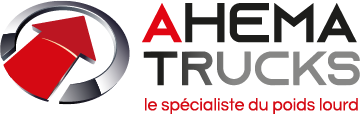 Logo Ahema Trucks sur fond transparent